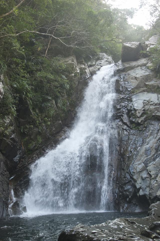 沖縄本島 比地大滝