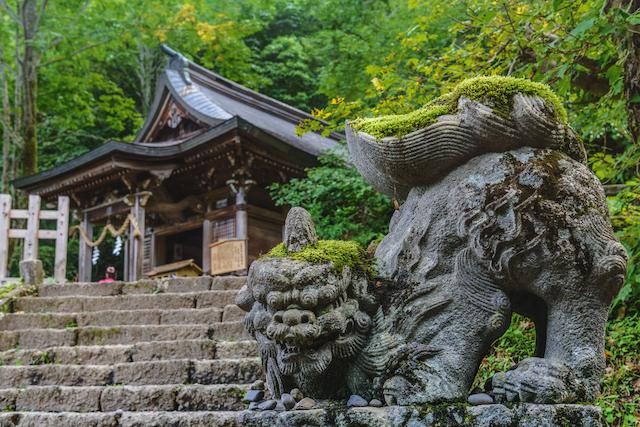 年齢と性別を言うと神職者がひいてくれる、戸隠神社のおみくじ