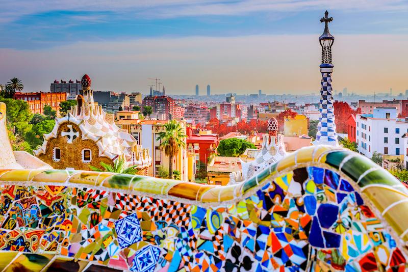 バルセロナにあるグエル公園