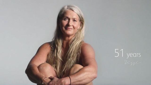 51歳女性のヌード