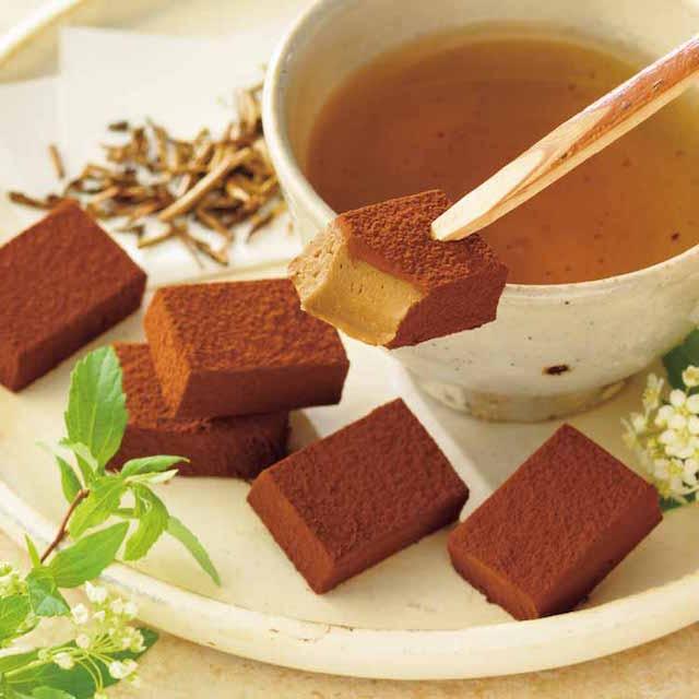 生チョコレート ほうじ茶