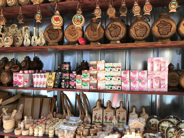ブルガリアの商店