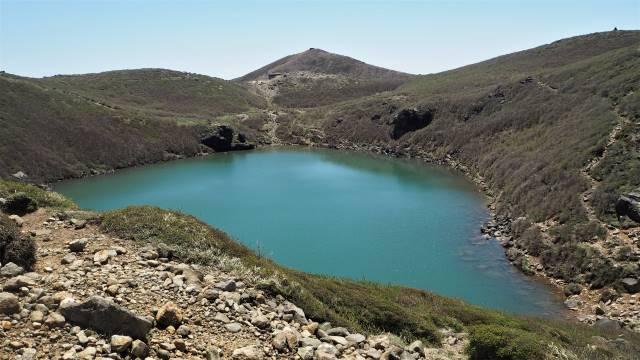 火口湖御池