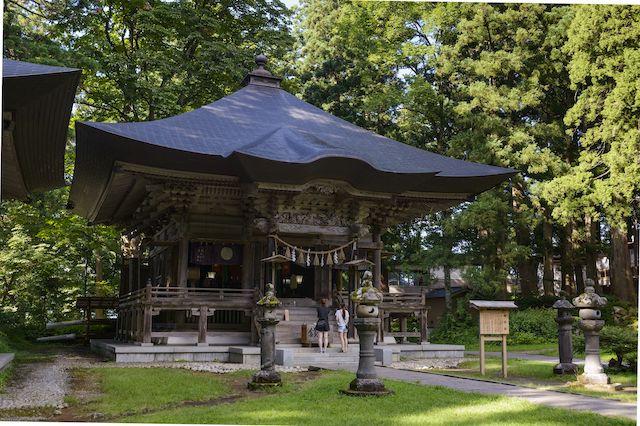 出羽三山神社・蜂子神社