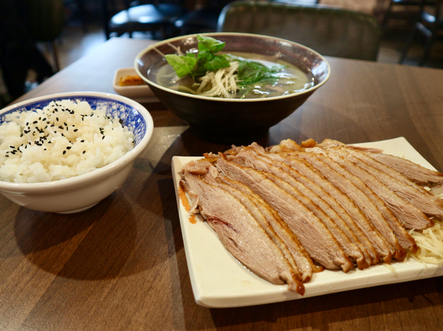 ガチョウ肉料理の数々