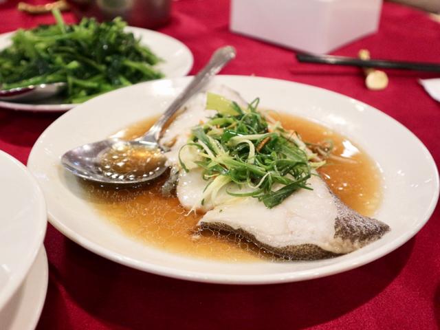 白身魚の煮もの