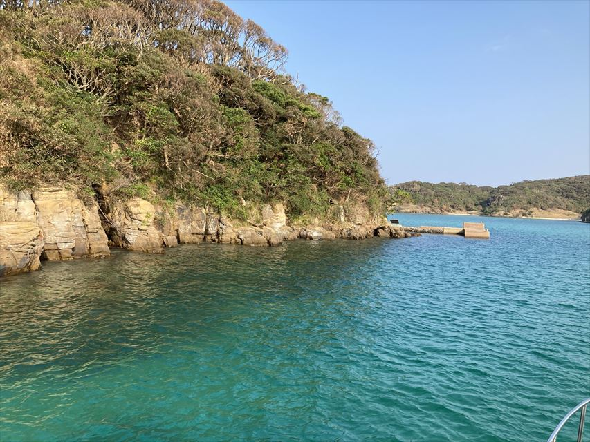辰の島クルーズ
