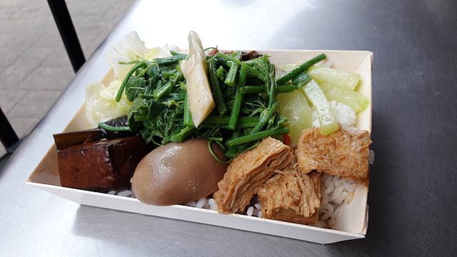 台湾の弁当