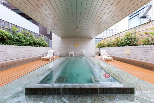 サウナ&カプセルホテル北欧の露天風呂