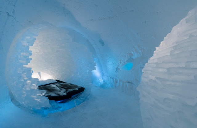 まさに氷の芸術!スウェーデンのアイスホテルが美しい