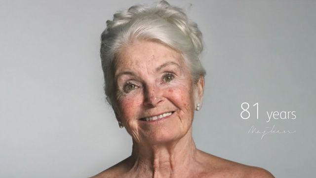 81歳女性のヌード