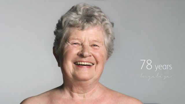 78歳の女性 ヌード写真