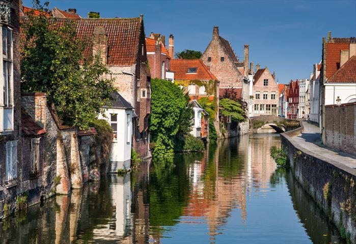 3つの世界遺産を同時に楽しめる!「屋根のない美術館」ベルギーのブルージュ