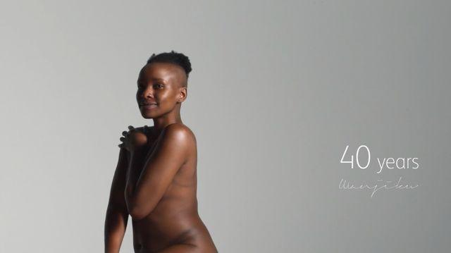 40歳の女性 ヌード