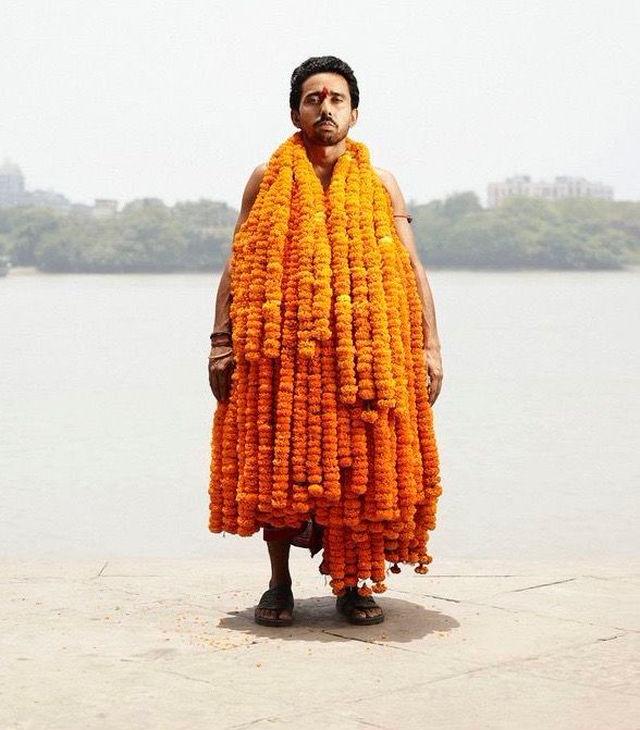 インド人 花