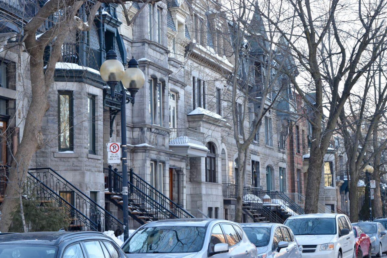 モントリオールの町並み