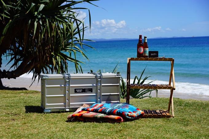 ピックニックやビーチで使うグッズは持参する