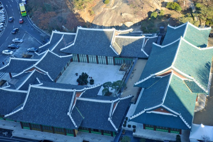ソウル新羅ホテル庭園と迎賓館