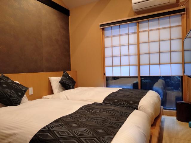 紡 京都駅南寝室2