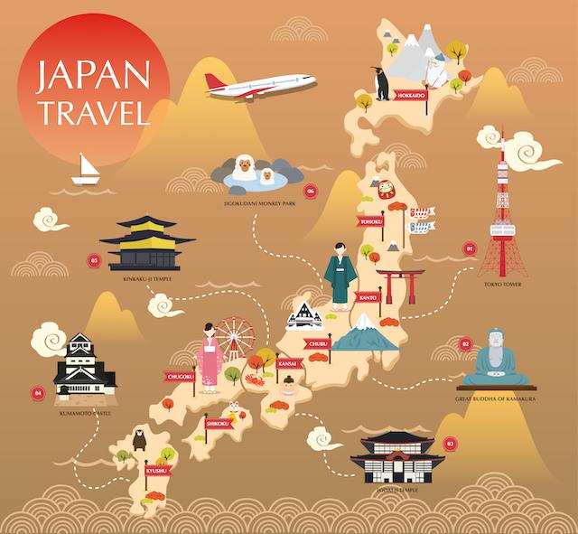 【ランキング】外国人旅行者に人気がない都道府県は?