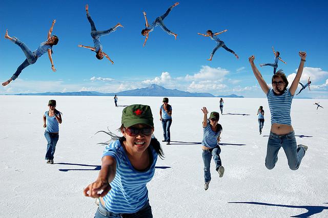 乾期のウユニ塩湖を楽しもう