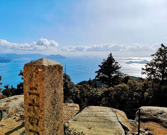 宮島弥山山頂からの眺め